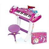 Enfants Enregistrement électronique 36 clé Clavier Piano Avec Support Stand Microphone et Tabouret