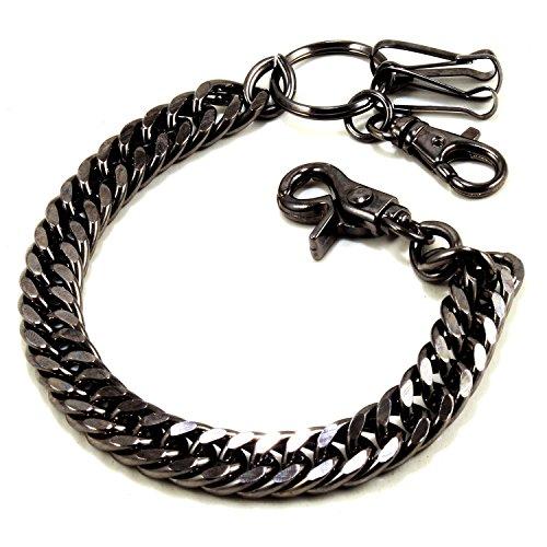 Doublek Heavy Biker Trucker Keychain Key Jean Wallet Chain (10