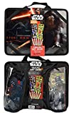 Star Wars Arts & Crafts Travel Bundle - 2 Items: Star Wars Kylo & Ren Travel Art Desk Set & 28 Piece 3D Molded Sticker Set Featuring Your Favorite Star Wars Characters & Gadgets