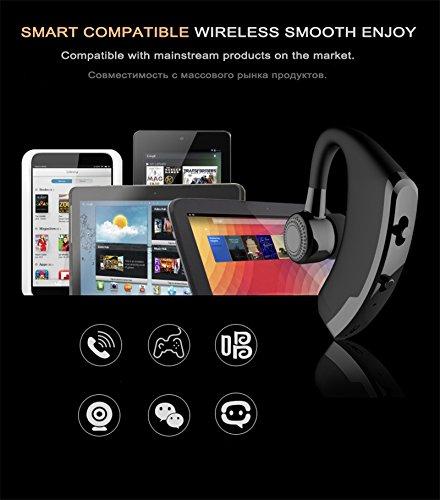 V9 Auriculares inalámbricos Bluetooth , SETAYO auriculares Bluetooth V4.1, auriculares inalámbricos con cancelación de ruido, auriculares con auriculares ...