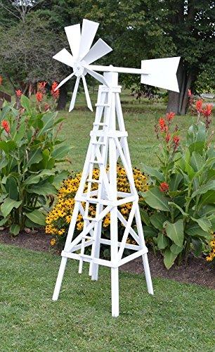 Amazon Com Backyard Crafts Amish Made Working Farm Style Windmill