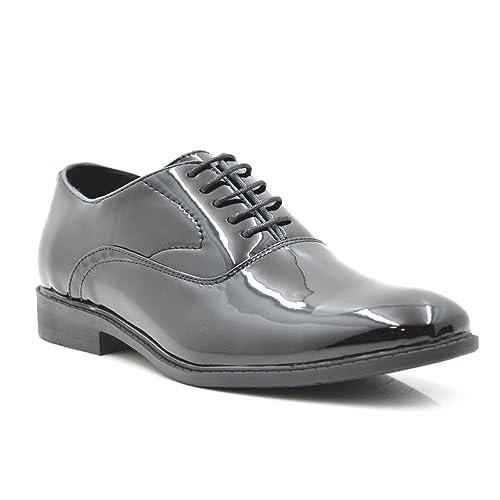 Tino Gonzalez Zapatos Hombre Amando Hombre Negro 45  Amazon.es  Zapatos y  complementos 9edfa2e6cd3