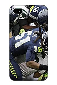 Anettewixom Protection Case For Iphone 4/4s / Case Cover For Christmas Day Gift(seattle Seahawks Nfl Football G)