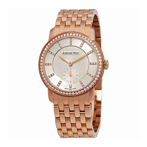 Audemars Piguet Jules Audemars Diamond Manual Wind Rose Gold Ladies Watch 77251OR.ZZ.1270OR.01