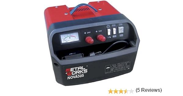 Cargador + arrancador de baterias 12 y 24v alta potencia ...