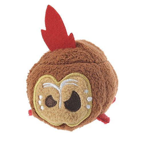Disney USA from Moana Brown Kakamora with Feather Mini Tsum Tsum Plush