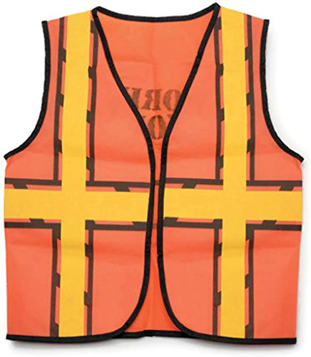 Children's Costume Orange Safety Vest