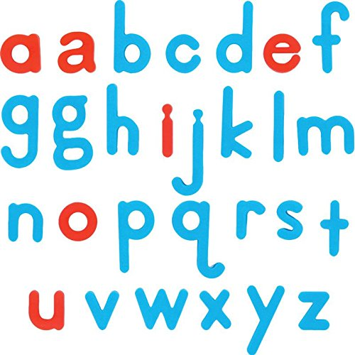 EZRead Jumbo Plastic Magnetic Letters - Lowercase