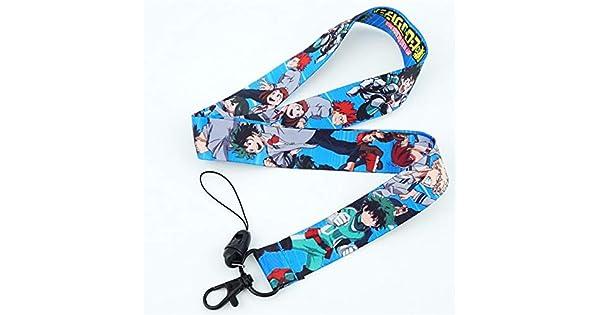 Amazon.com: YPT - Cadenas para llaves, diseño de Anime My ...