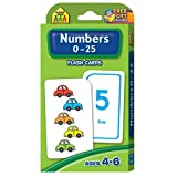 Books : Numbers 0-25 Flash Cards by School Zone Publishing Company Staff (2005-01-01)