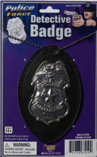 Police Badge on a Chain Deluxe