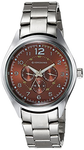 Giordano Analog Brown Dial Men's Watch – DTLMM 60064-33