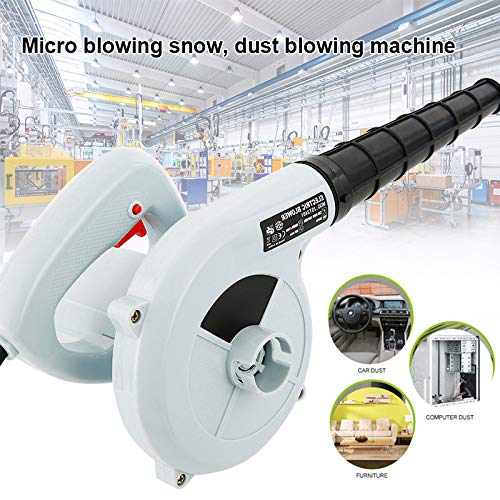 Abboard 220V Electric Air Duster Computer Cleaner Keyboard Blower Household Vacuum Cleaner Multi-Use Electric Computer Duster Dryer Air Pump Blower for any of your expensive electronic devices