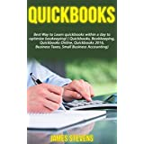 QuickBooks: Best Way to Learn QuickBooks within a day to optimize bookkeeping! (QuickBooks, Bookkeeping, QuickBooks Online, QuickBooks 2016, ... Business Taxes, Small Business Accounting)