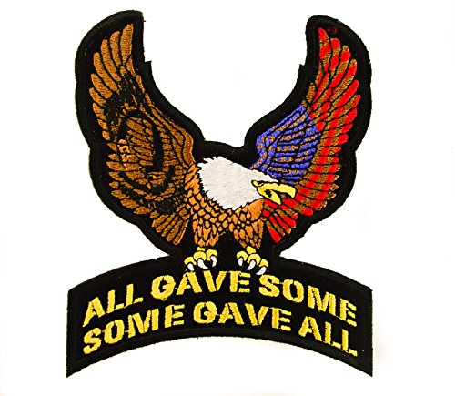 Eagle All Gave Some Gave All Honor Troops Embroidered Patch 5
