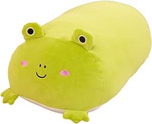 wpOP59NE Plush Toys Stuffed Animals 30cm Lying Pig Cats Doll Toy Home Sofa Couch Car Decor Kids Teen Boys Thanksgiving Xmas Gifts Frog #