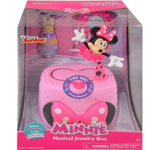 Just Play Minnie Bow-Tique Musical Jewelry Box