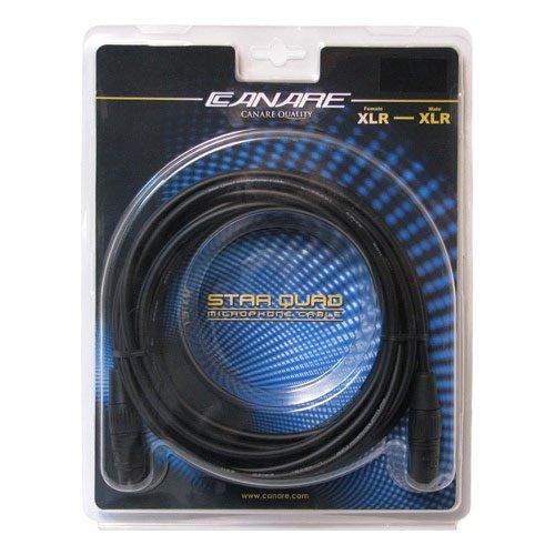 Canare MC15F - Star Quad Microphone Cable - 15 feet (4.6m) / XLR(F) - XLR(M)