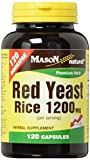Mason Vitamins Red Yeast Rice 1200 mg Capsules, 120 Count For Sale
