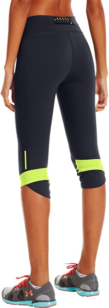 Under Armour Womens Fly-By Compression Capri