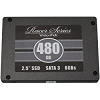 VisionTek Racer Series SSD 480GB Ultra Performance SATA III 6.0Gb/s 2.5-Inch Solid State Drive (900501)