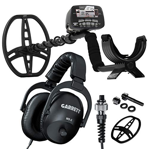 (Garrett AT PRO with PROformance DD Submersible Coil, Coil Cover & MS-2 Stereo Headphones)