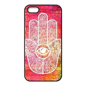 hamsa hand CUSTOM Cell Phone Case for iPhone ipod touch4 LMc-5732ipod touch4 at LaiMc
