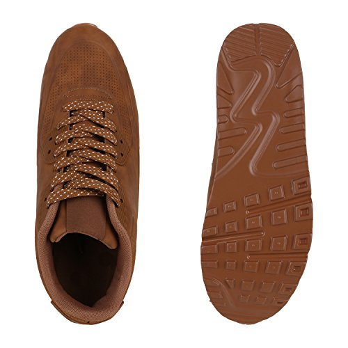 Marrone Sneaker Uomo marrone 40 Eu Stiefelparadies qE7gxS8q