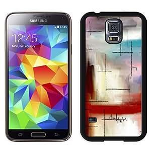 Beautiful Custom Designed Cover Case For Samsung Galaxy S5 I9600 G900a G900v G900p G900t G900w With Modern Line Art Phone Case