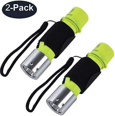 ChaseLight Flashlight Waterproof Underwater Snorkeling product image
