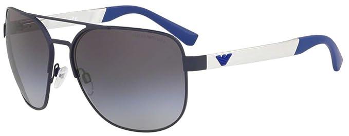 Emporio Armani 0EA2064 Gafas de sol, Matte Blue, 62 para ...