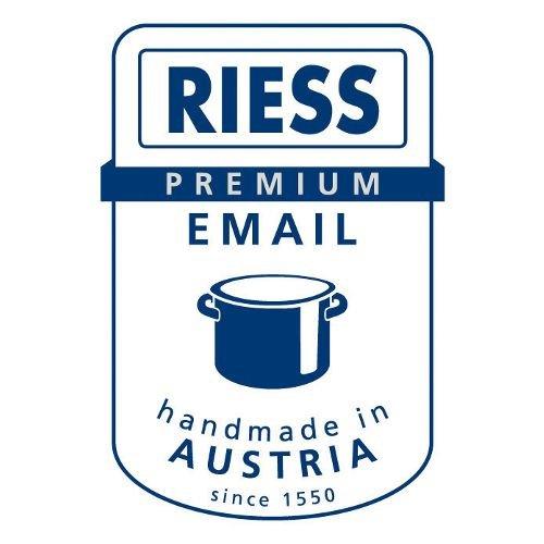 rose RIESS kELOmat classic pastell/» casserole en /émail avec bord effet chrom/é 12 cm