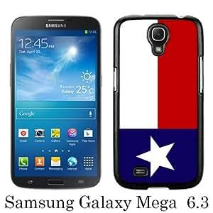 Texas Lone Star State Flag Black Newest Customized Samsung Galaxy Mega 6.3 i9200 i9205 Phone Case