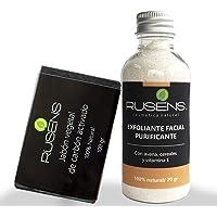 Rusens - Kit Purificante, Ayuda a Disminuir Puntos Negros, impurezas y Regula el Exceso de Grasa. Contiene Jabón de…