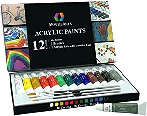 how long does acrylic paint last