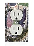 College Football Stadiums Electrical Outlet Plate