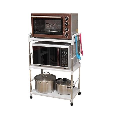 PENGFEI Estante De Cocina Rejilla del Horno Microondas ...