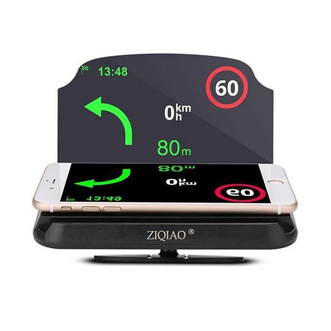 Soporte de navegación universal para coche HUD con proyector para ...