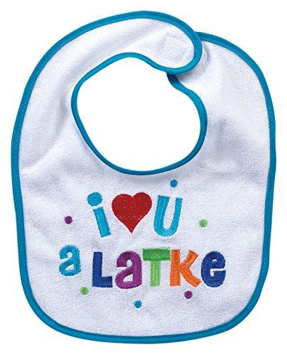 Rite Lite I Love You A Latke Bib (Romance Bib)