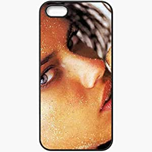 Personalized iPhone 5 5S Cell phone Case/Cover Skin Adriana Lima Black