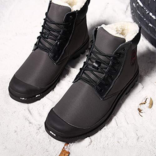 Da Impermeabile Di Snow Stivali Scarpe Cotone Pi Alta Uomo HDWY Outdoor 5PFaS66n