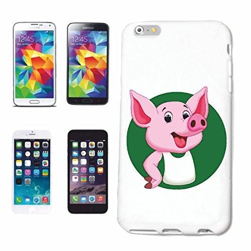 caja del teléfono iPhone 7S Cerdo cerdo doméstico cerdo de barbacoa Glücksschwein domésticos PIG BOAR COCHINILLOS Caso duro de la cubierta Teléfono Cubiertas cubierta para el Apple iPhone en blanco