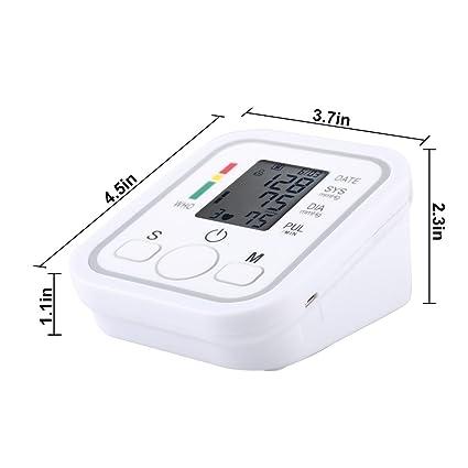 5733599 brazo Digital Tensiómetro, automática brazo prueba Sieger con Universal de manguito (22 - 32 cm), de arritmia de pantalla para la medición de ...
