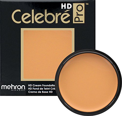 Mehron Makeup Celebre Pro-HD Cream Face & Body Makeup (0.9 oz) (MEDIUM 1)