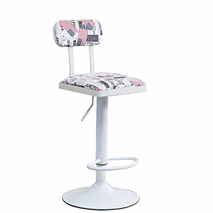 Amazing Amazon Com Adjustable Swivel Bar Stools Simple Lift Bar Creativecarmelina Interior Chair Design Creativecarmelinacom