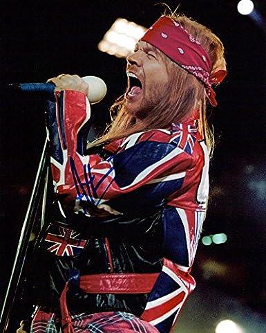 Axl Rose (Guns N' Roses) Signed 8x10 Photo at Amazon's Entertainment