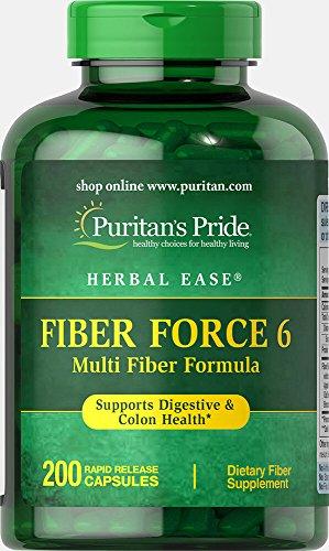 Cheap Puritan's Pride Fiber Force 6-200 Capsules