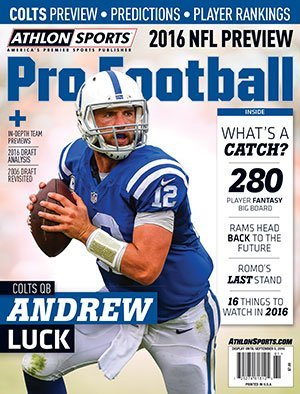 (Athlon Sports 2016 Pro Football (NFL) Preview Magazine - Indianapolis Colts)