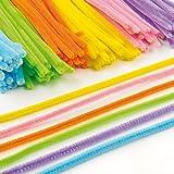Pack économique de fils chenille colorés - Lot de 120