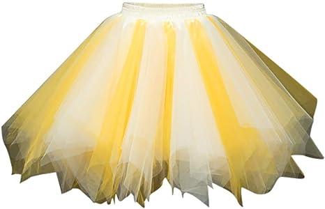 Damska spÓdnica tiulowa w stylu lat 50., rockabilly, petticoat, tutu, pod spÓdnicą, krÓtka, baletowa, do tańca, na bal, seksowna, wielokolorowa, siateczkowa, sukienka wieczorowa, na imprezę: Odzi